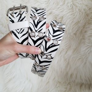 Zebra belt!